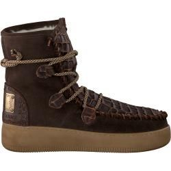 Women's ankle boots & women's boots -  Karma of Charme lace-up boots Yml3 brown women Karma of CharmeKarma of Charme  - #amp #ankle #boots #crystaljewelry #cutejewelry #jewelrydisplay #Women #Women39s