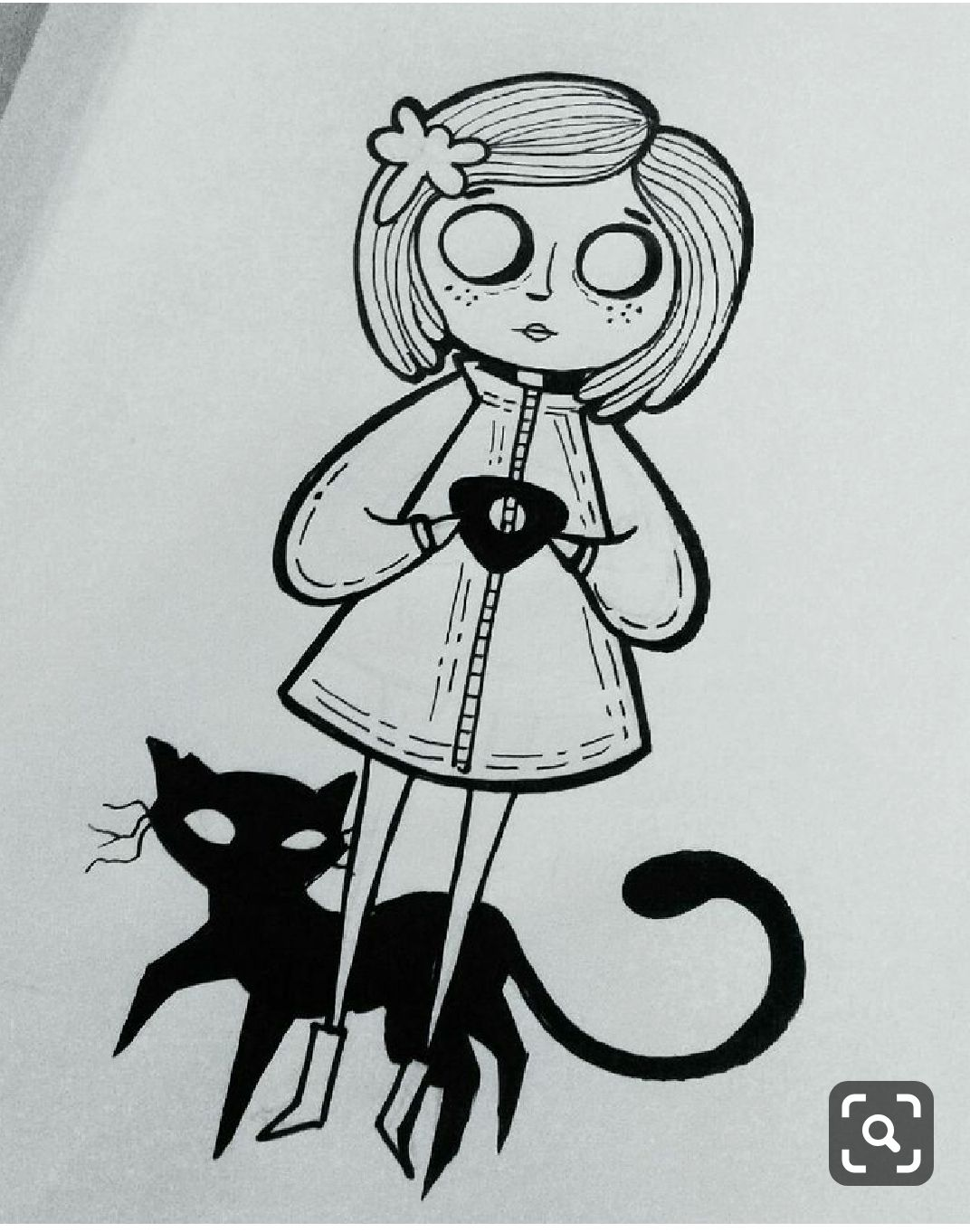Coraline Tattoo Coraline Art Coraline Tattoo Art Sketches