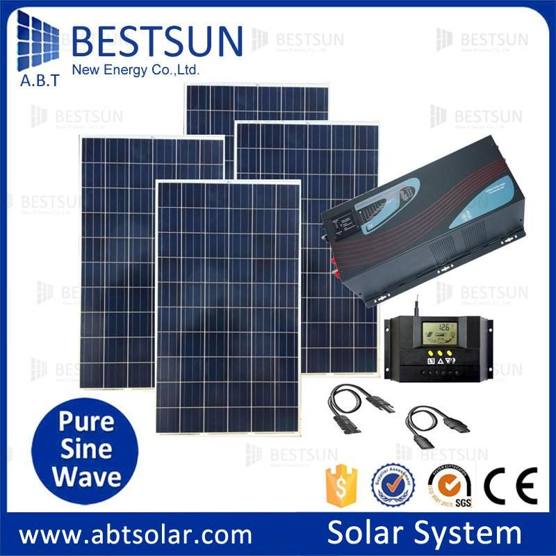1000w 5000w 6000w High Efficiency Solar Energy System For Home And 10kw 20kw Solar Power Supply Off Grid Solar Solar Panels For Home Solar