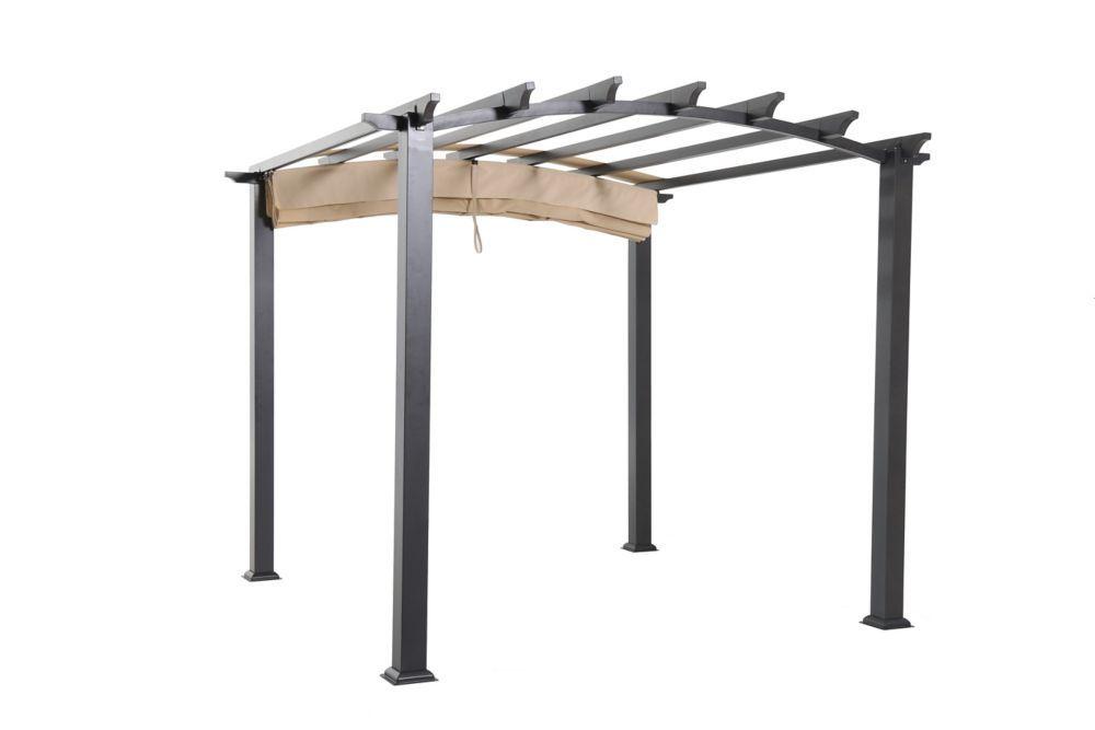 Arched Pergola 9x9 | Pergola, Garage pergola, Building a ...