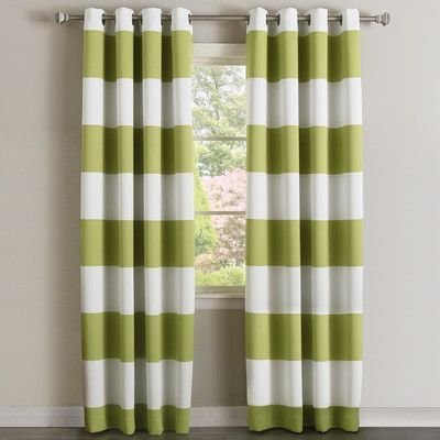 Look What I Found On Wayfair With Images Striped Curtains Striped Room Curtains