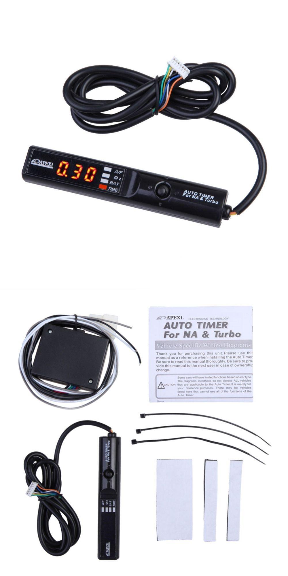 Universal Pen Size Auto Turbo Timer for NA Turbo Digital White LED ...
