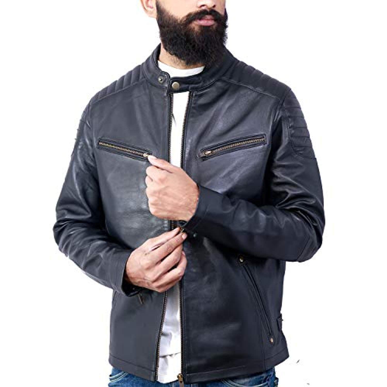 Luxury Premium Handmade Genuine Lambskin Men's Leather