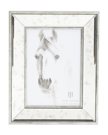 5x7 Distressed Mirrored Frame | TJ Maxx | Pinterest | Dressing room ...