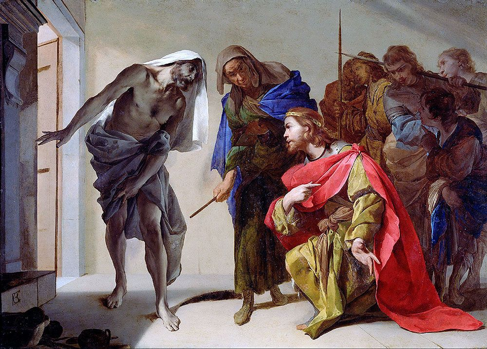 Cavallino Bernardo Saul And Samuel S Shadow Getty Art
