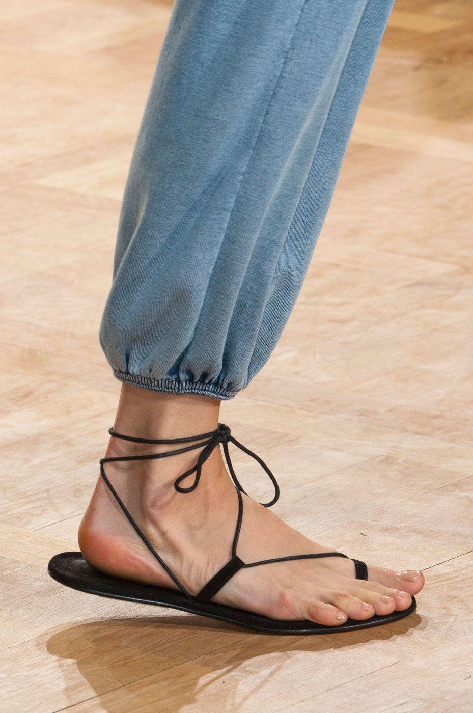 Chaussures plates en cuir GloveMartiniano zTgpGWUW
