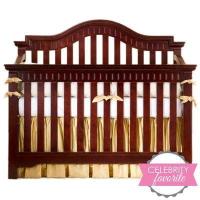 Bellini Baby Jordan 3-in-1 Convertible Crib Finish: Mahogany