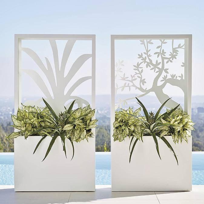 Agave Partition Planter By Porta Forma Tuin Plantenbak 400 x 300