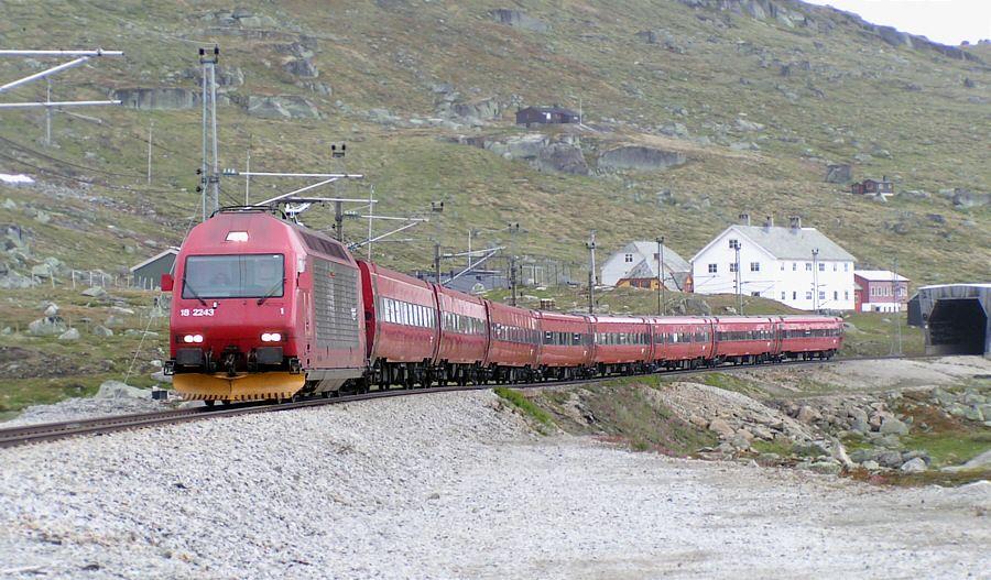 Norwegian State Railways Railway Train Night Train