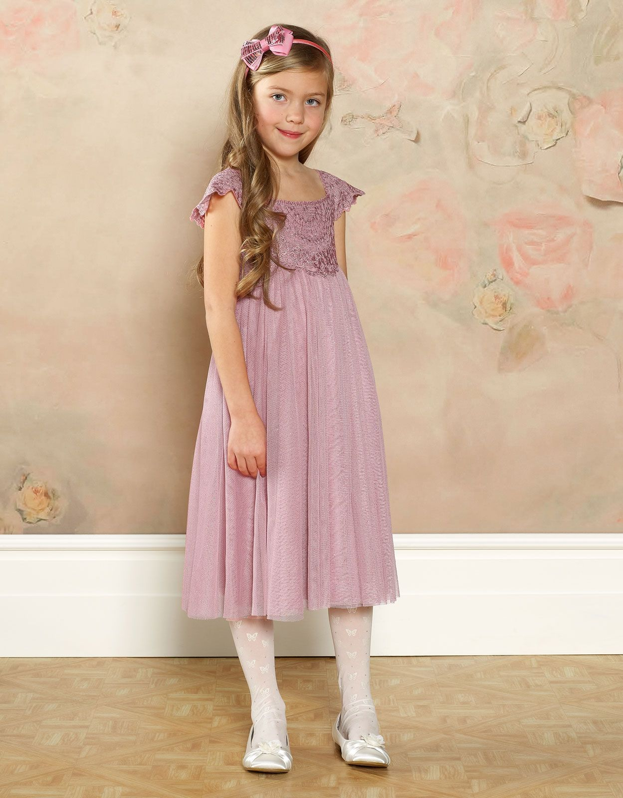 Estella Sparkle Dress | Pink | Monsoon | Flowergirls | Pinterest ...