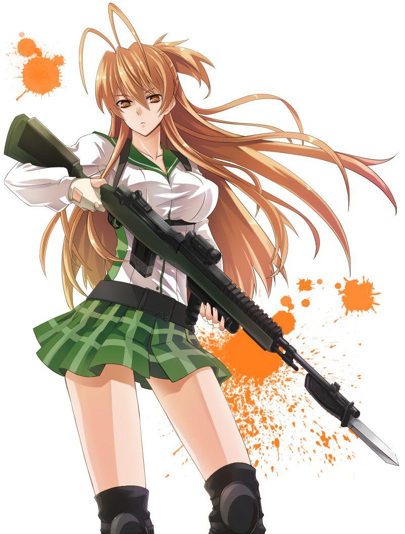 School Of The Dead : school, Highschool, Photo:, School, Dead,, Anime, School,