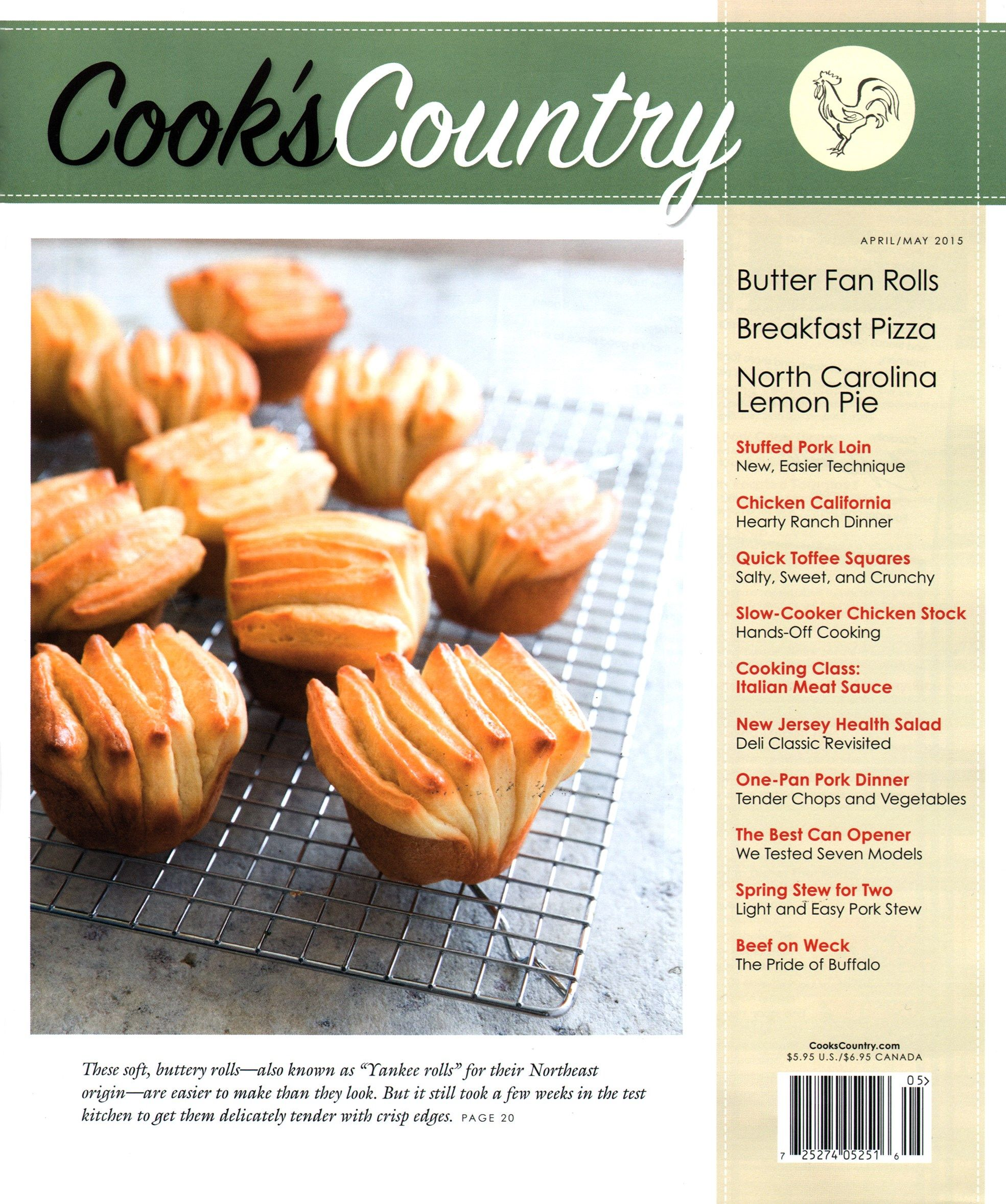 Cook S Country Cover For 4 1 2015 Cooks Country Recipes Cooks