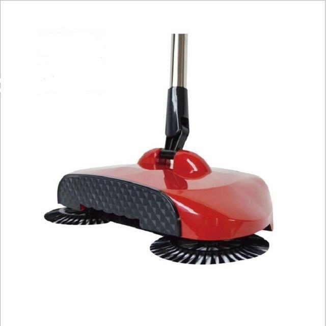 360 Degree Magic Broom Cleaning Household Push Broom Dust Pan