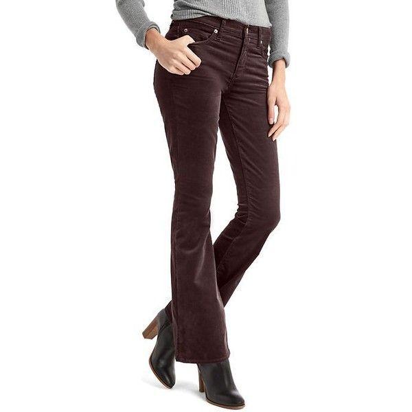 Womens bootcut corduroy pants
