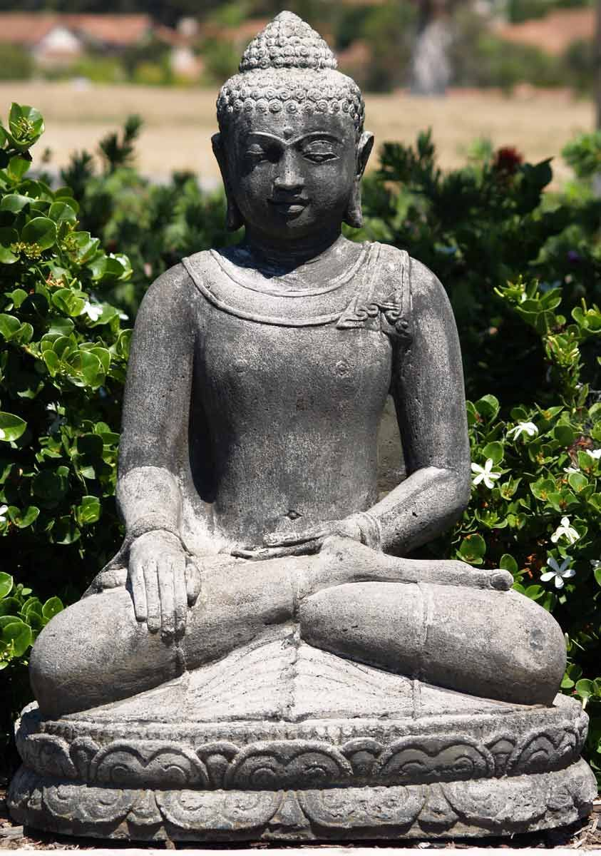 Sold stone garden buddha statue 32 buddha sold stone garden buddha statue 32 workwithnaturefo