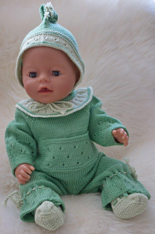 Doll Knitting Books 1 08 Jenny   Baby born clothes ...