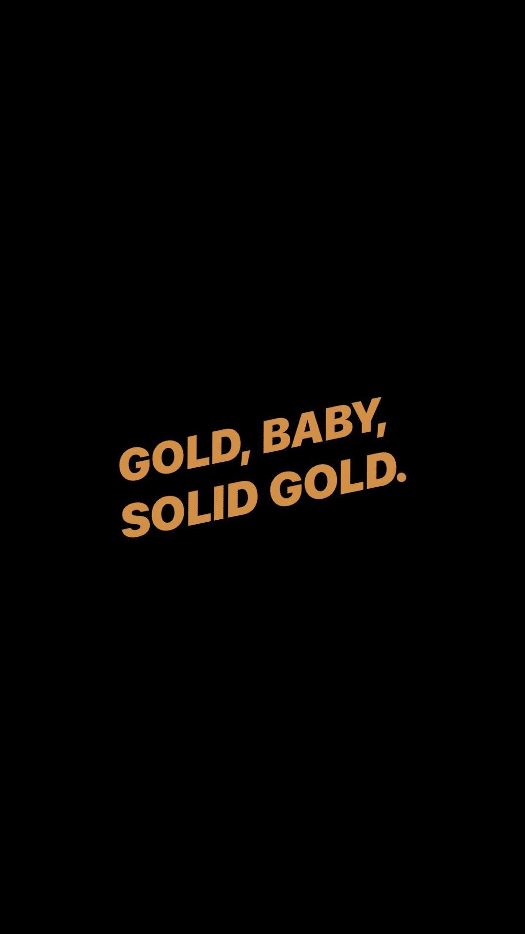 Phone Wallpaper Poster Background Gold In 2019 Simple