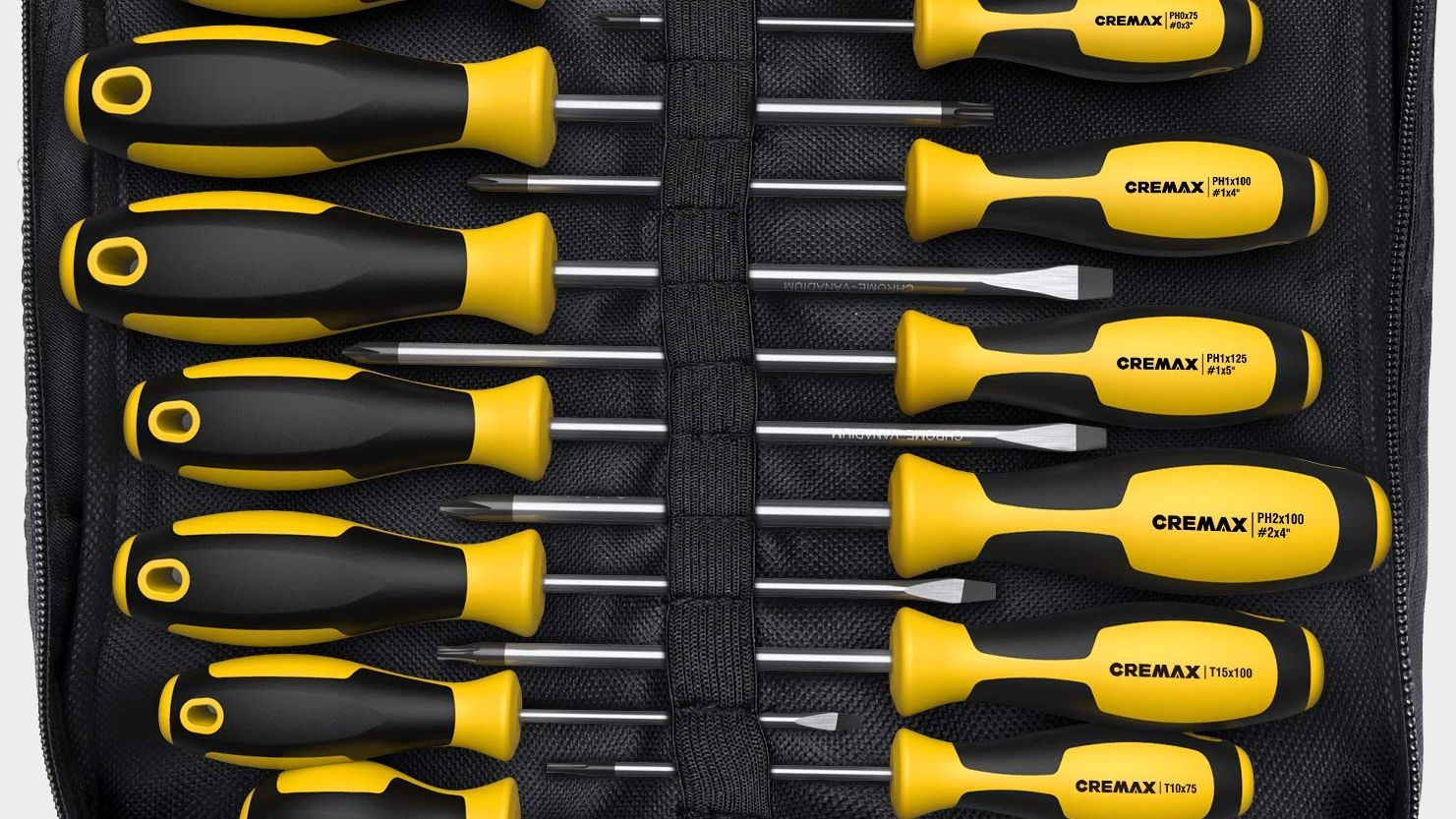 Wheres your screwdriver? If youre not sure this 14piece