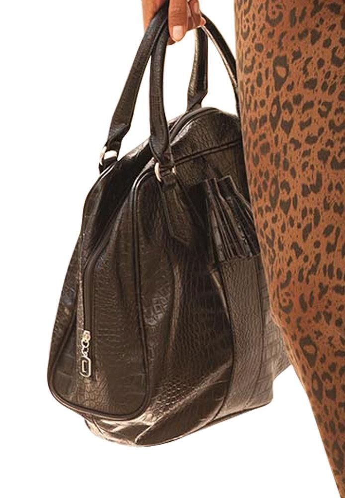 $17.59 LADIES Woman Within HANDBAG. 'AVA' HANDBAG Crocodile Pattern. WAS $59.99.  NOW 71% OFF!   http://beso.ly/rd/4609111779?a=436136=1 via @beso