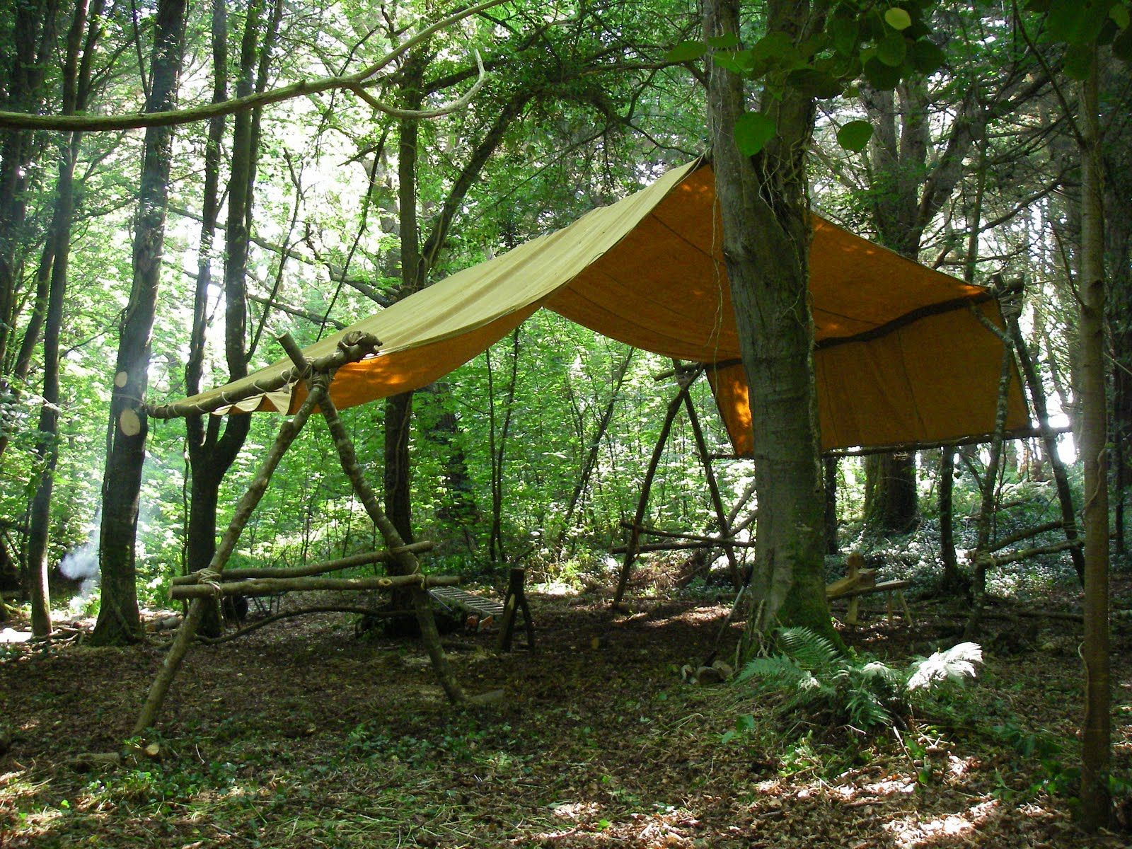 Cornish Woodland Workshop: Bodgers Camp