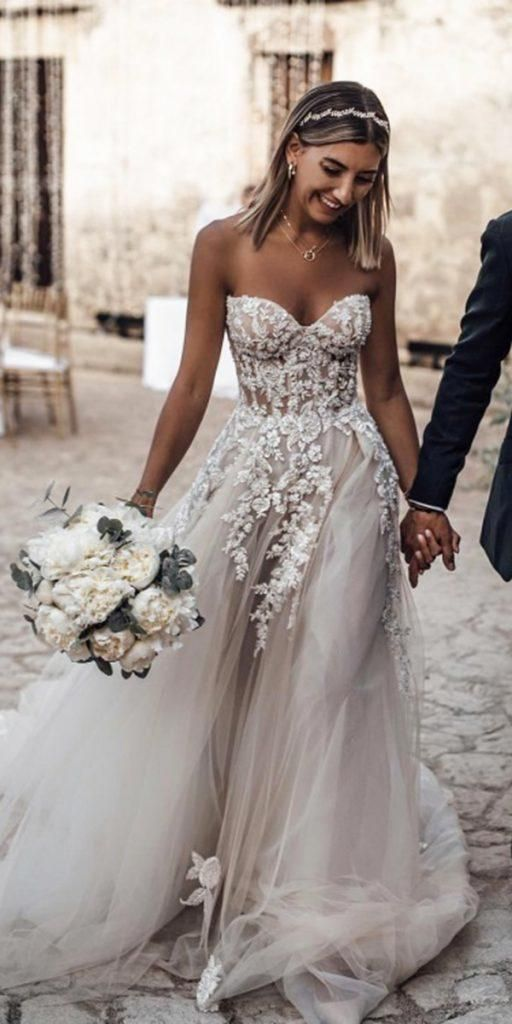21 Top Wedding Dresses 2018  - Wedding Ideas - #dresses #ideas #Top #Wedding