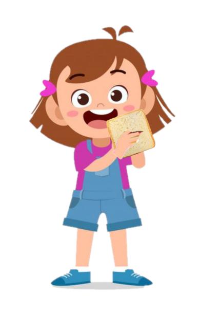 Nena Comiendo Pan Dibujos Para Ninos Mandalas Animales Fondos Para Ninos