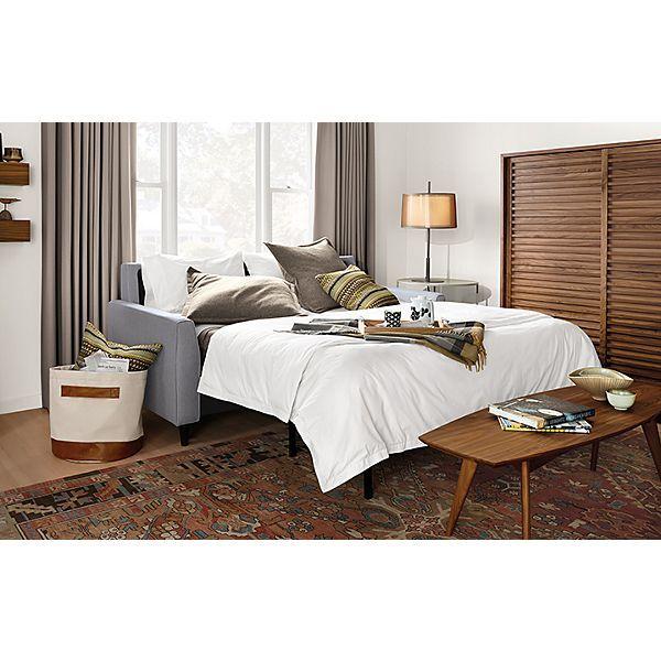 Trenton Day Amp Night Sleeper In Mila Grey Living Room