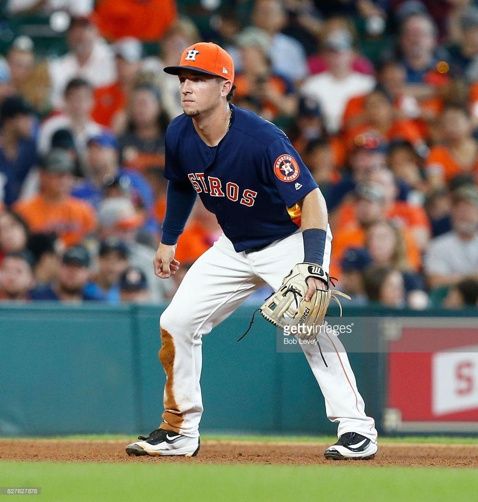 News Photo Alex Bregman of the Houston Astros during