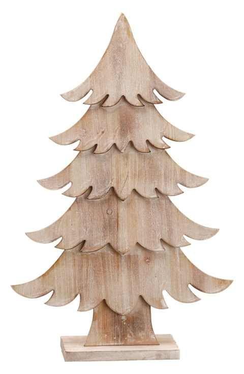 ALLSTATE Wood Tabletop Tree