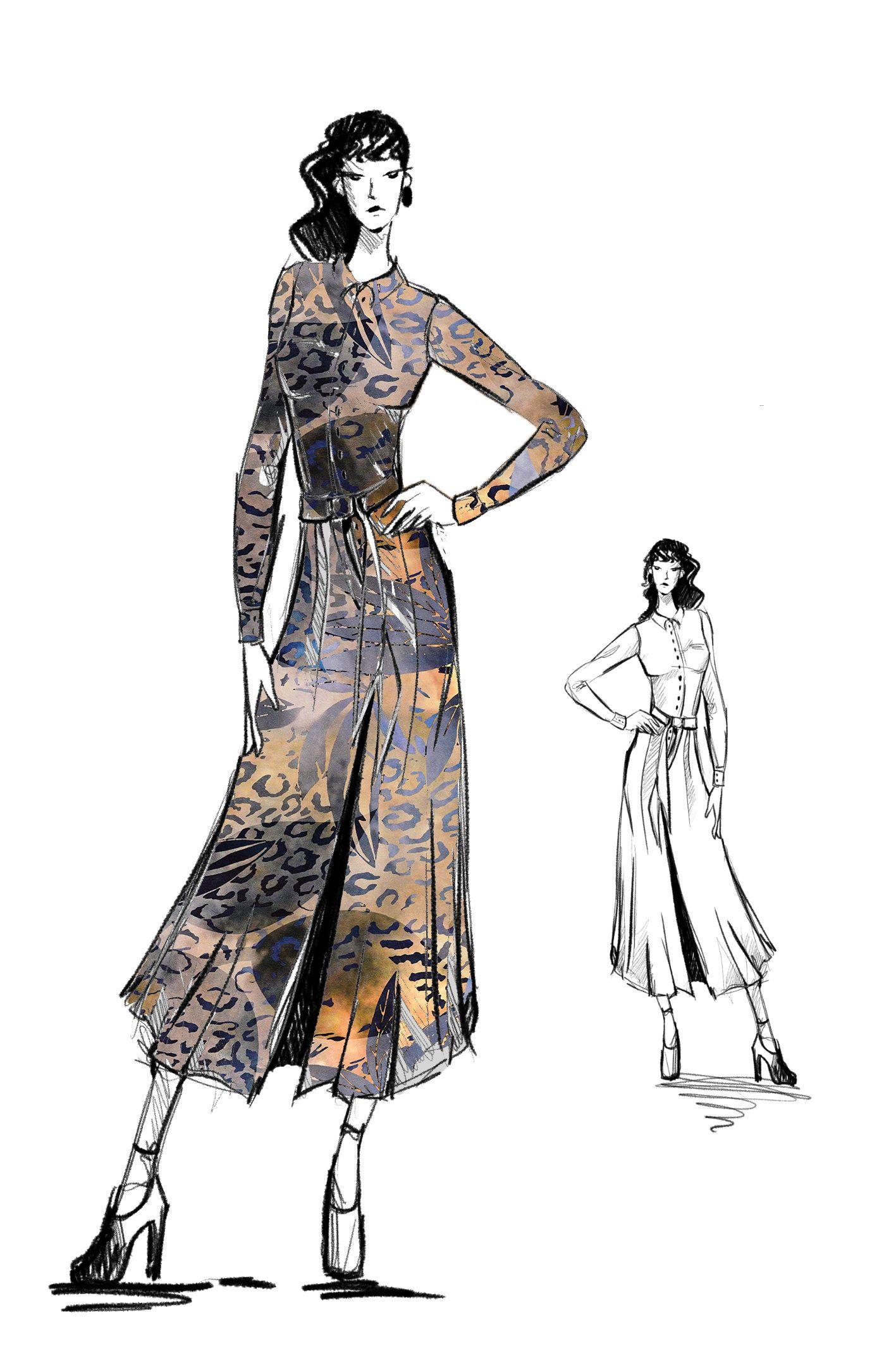 Fashion Illustration Fashion wall art Chanel art Chanel print