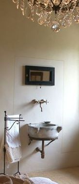 La Fornella Guest Room  Antique Marble Sink