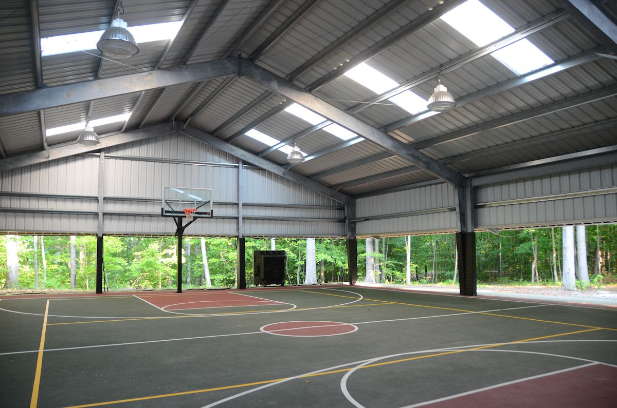 Sport Pavilion 53831 Jpg 1200 795 Basketball Court Backyard Outdoor Basketball Court Home Basketball Court