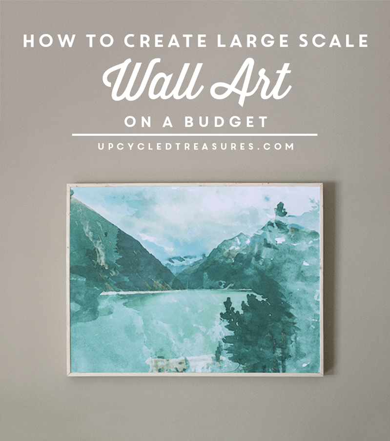 DIY Large Scale Wall Art | DIY my Home | Pinterest | Scale, Walls ...