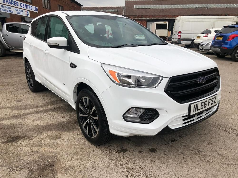 Ebay 2017 Ford Kuga 2 0 Tdci St Line 4x4 Zetec Repaired Salvage