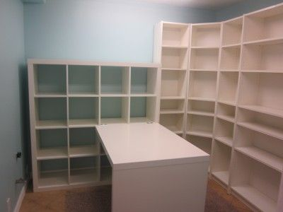 This is what my half of the office is going to look like! I LOVE all the organizing space!