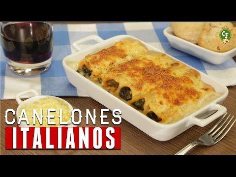 ¿Cómo preparar Canelones Italianos? - Cocina Fresca - YouTube
