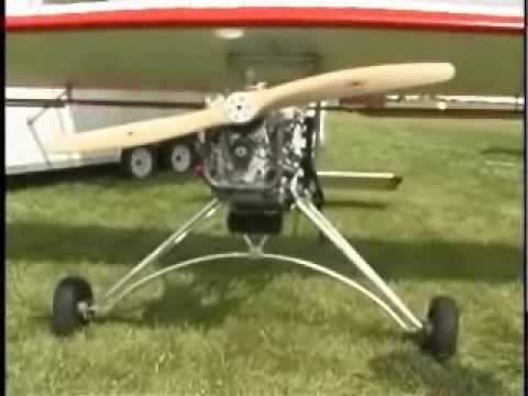 Backyard Flyer Swing Wing ultralight aircraft - YouTube