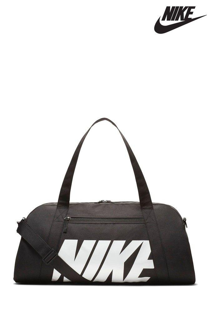 44507afa7bbe0c Mens Nike Black Gym Club Duffle Bag - Black | Products | Bags, Black ...