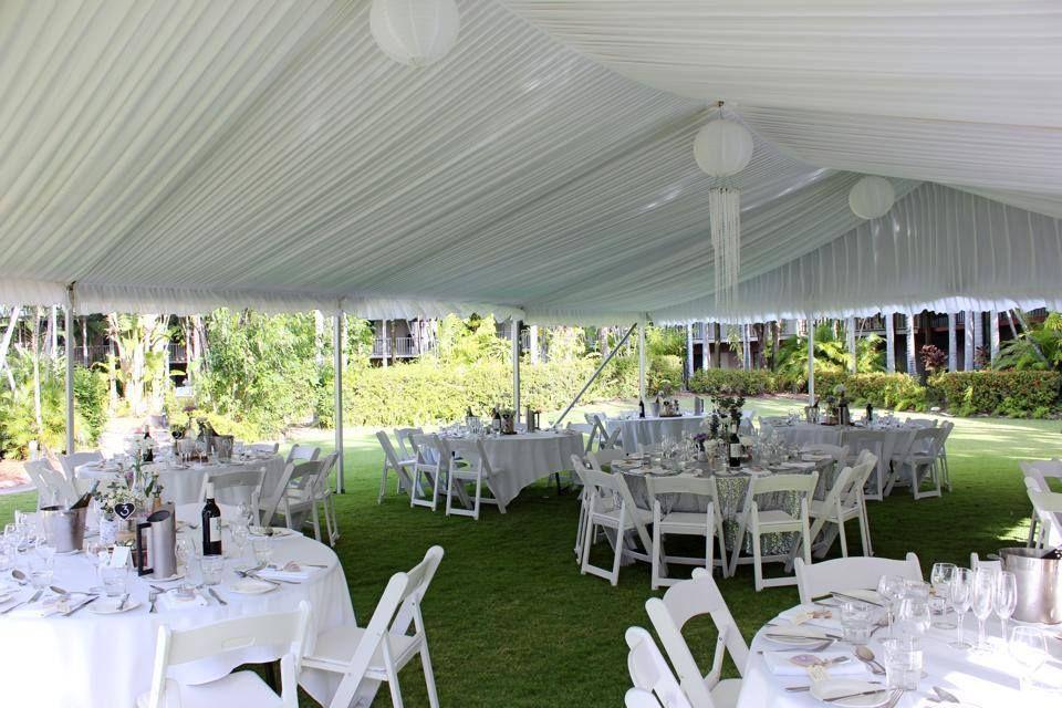 Oasis Garden Wedding Reception Mercure Townsville Tropical Gardens Marquee Resort Style Resort Hotel