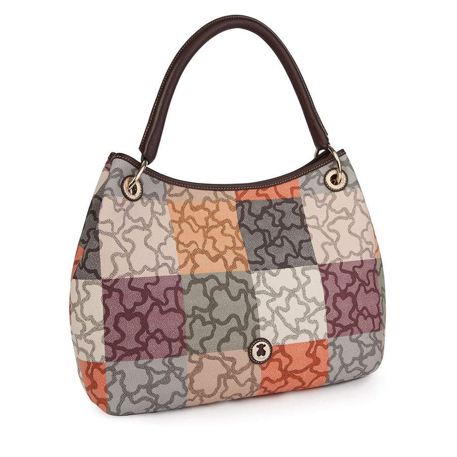 Tous Brown-pink Elice New City bag 7F17iBV13