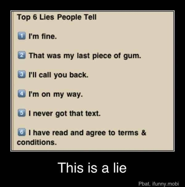 Lies We Tell Ourselves Funny Inspirational Quotes What Makes You Laugh Just For Laughs