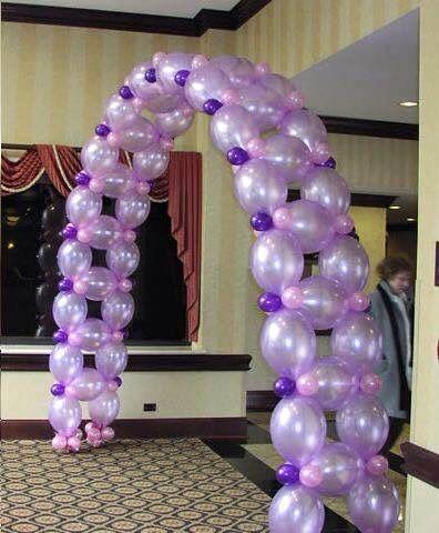Arco de globos para fiesta