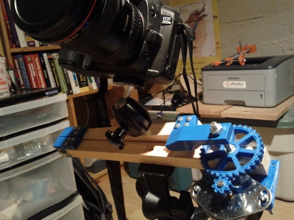 Motorized Stars Tracker by pchretien. | Projects to Try ...