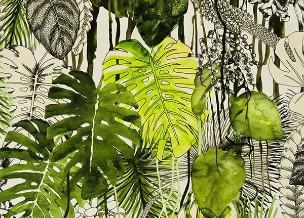 New fabric wallpaper introductions christian lacroix for designers gui - Tissu christian lacroix ...