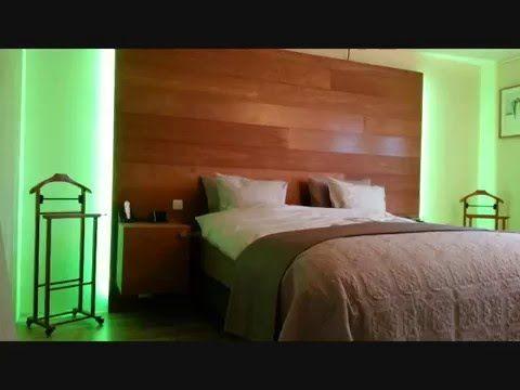 Afbeeldingsresultaat voor hoofdbord bed met led verlichting zelf
