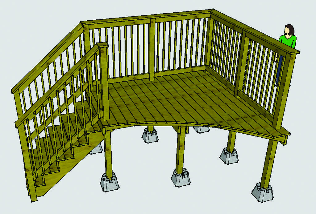 10 Beautiful Easy Diy Backyard Decks Homes Tre Above Ground Pool Decks Pool Deck Plans Pool Decks