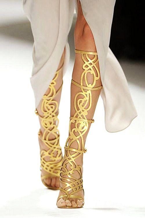 1000  images about Shoes on Pinterest  Pump Gold platform heels