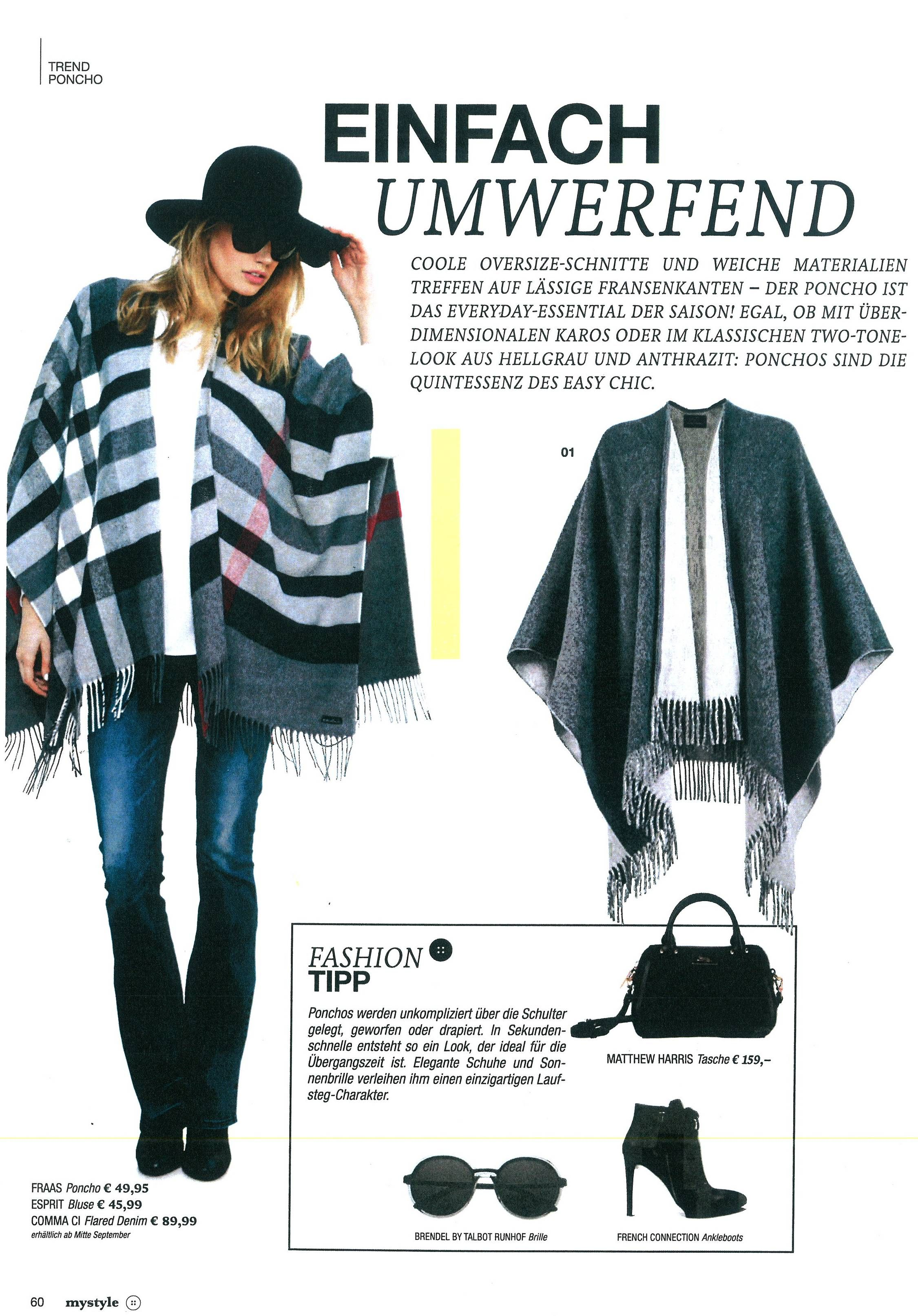 5676abee5ae871 #fraas #Fashion #scarf #square #madeingermany #tuch #schal #seide, #silk  #cotton #baumwolle #wolle #wool #perfectpiece #cashmere #kaschmir #poncho  #cape ...