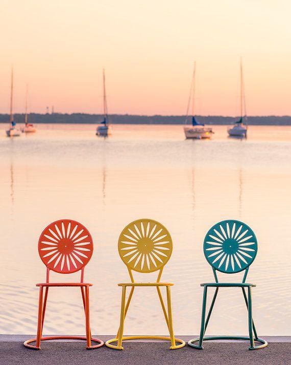 Holiday Magic On Lake Wingra Pickup >> Chairs At Memorial Union Uw Madison Terrace Madison By Ryanmense