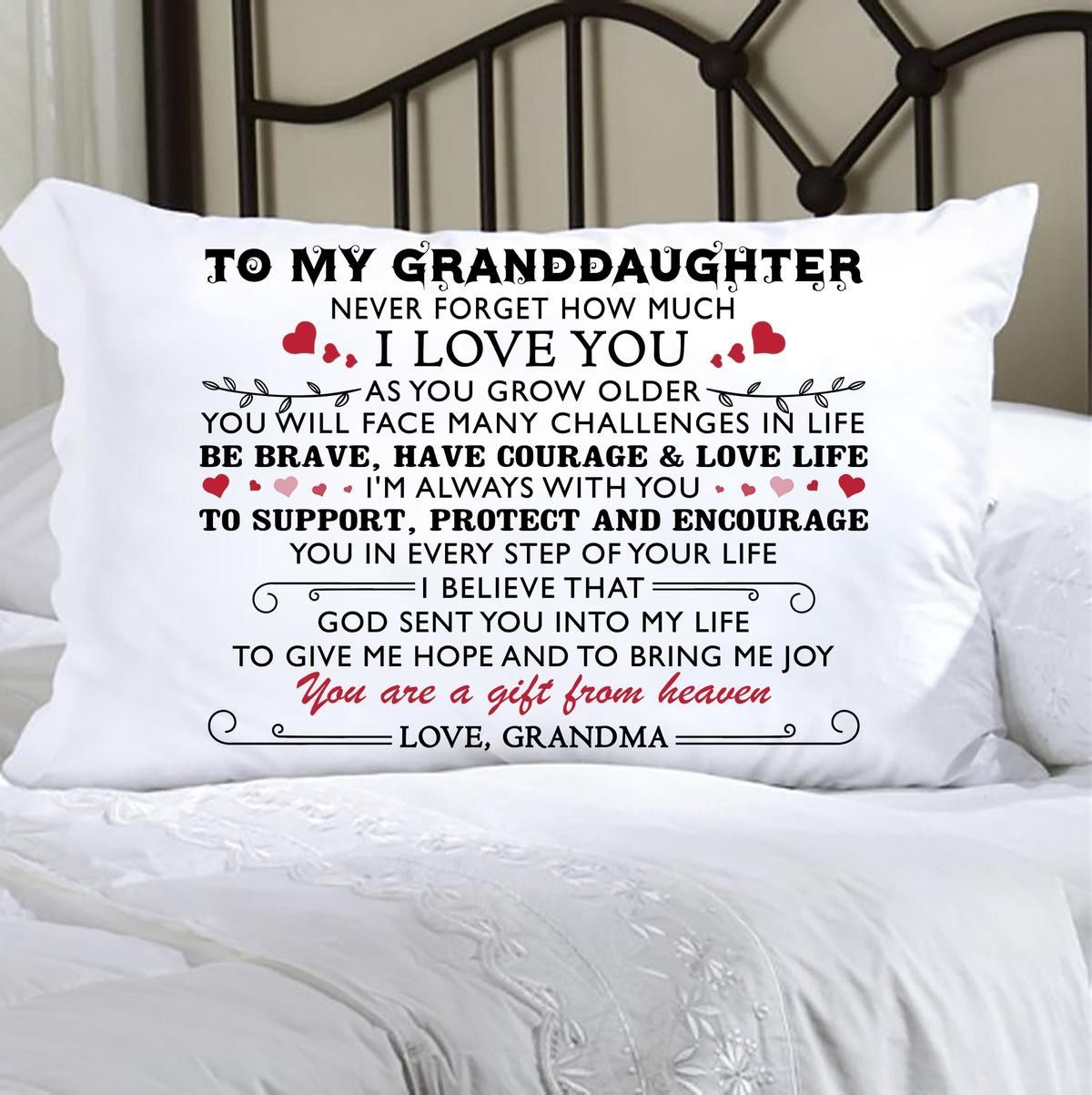 to my beloved daughter love mom gift